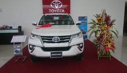 Đại lý Toyota Thái Hòa, bán Toyota Fortuner 2.7, màu trắng, nhập khẩu, giá tốt, LH 0964898932-0
