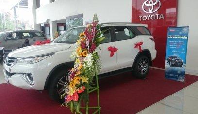 Đại lý Toyota Thái Hòa, bán Toyota Fortuner 2.7, màu trắng, nhập khẩu, giá tốt, LH 0964898932-1