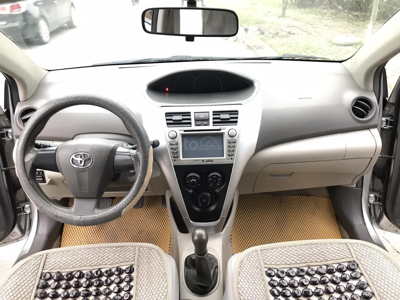 Bán Toyota Vios 1.5 E đời 2013, màu bạc, 380 triệu. Nói không với Limo taxi-4
