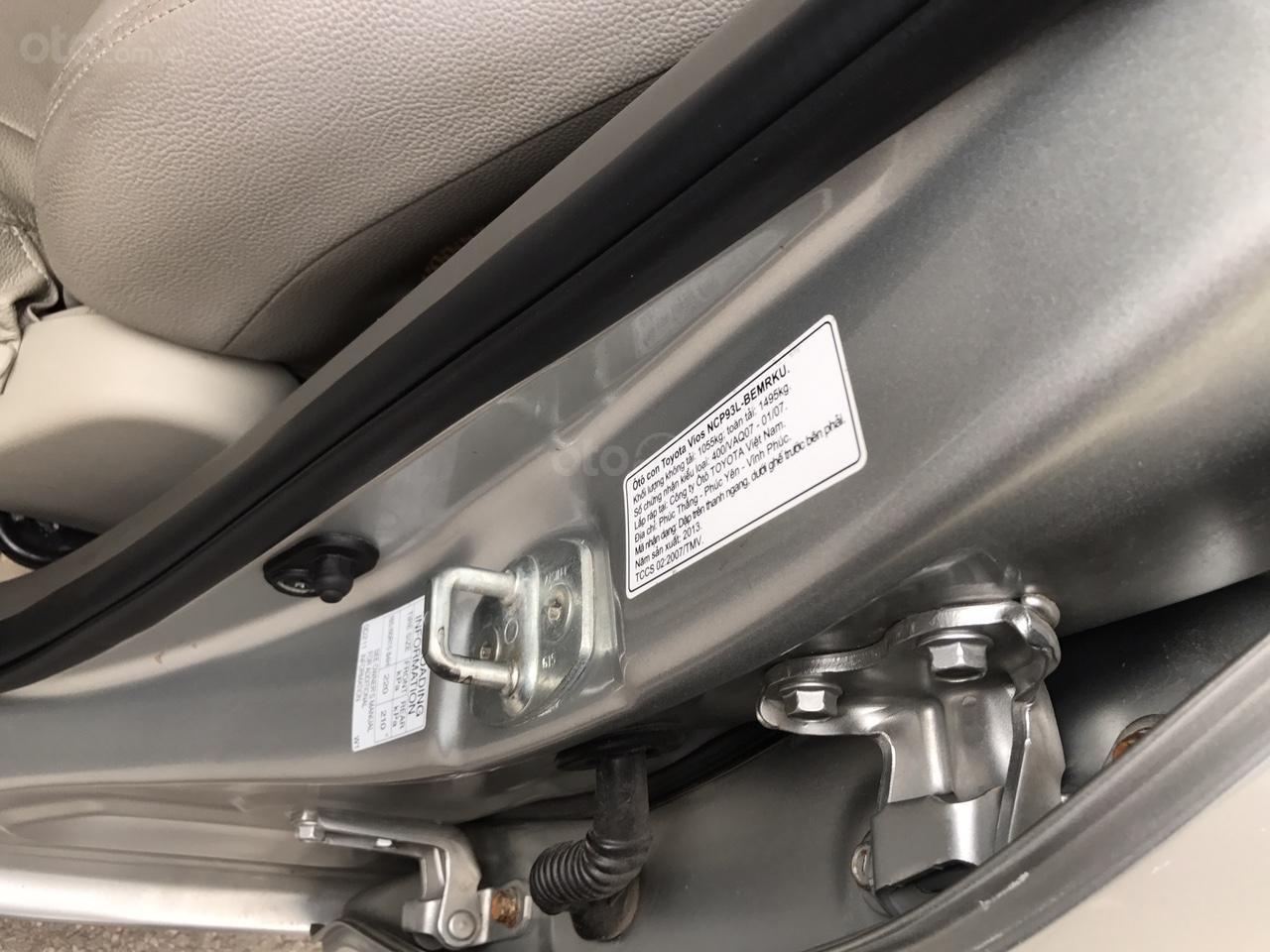Bán Toyota Vios 1.5 E đời 2013, màu bạc, 380 triệu. Nói không với Limo taxi-19