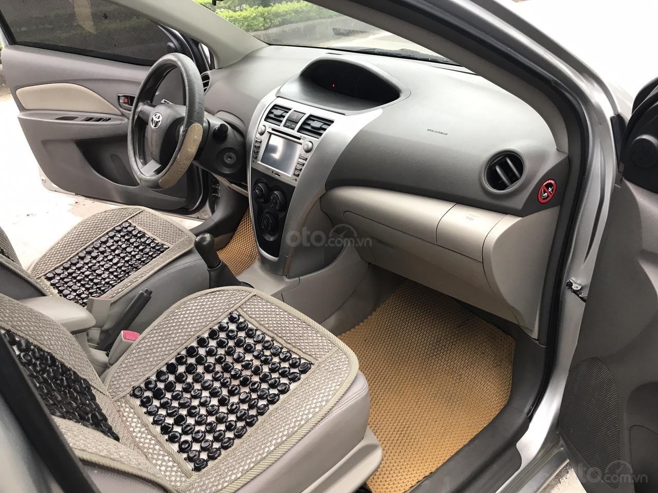 Bán Toyota Vios 1.5 E đời 2013, màu bạc, 380 triệu. Nói không với Limo taxi-6
