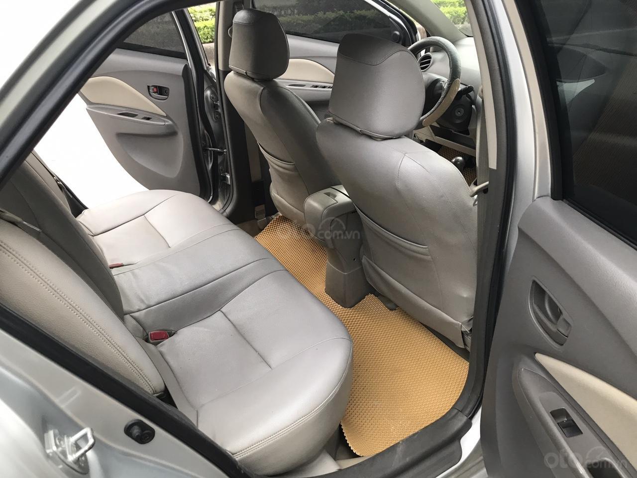 Bán Toyota Vios 1.5 E đời 2013, màu bạc, 380 triệu. Nói không với Limo taxi-22