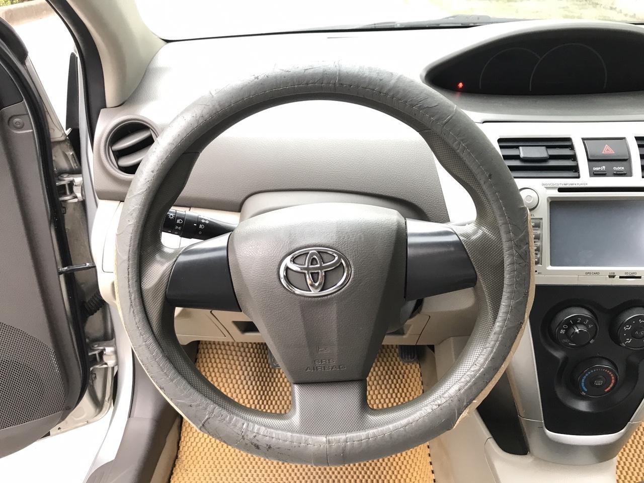 Bán Toyota Vios 1.5 E đời 2013, màu bạc, 380 triệu. Nói không với Limo taxi-5