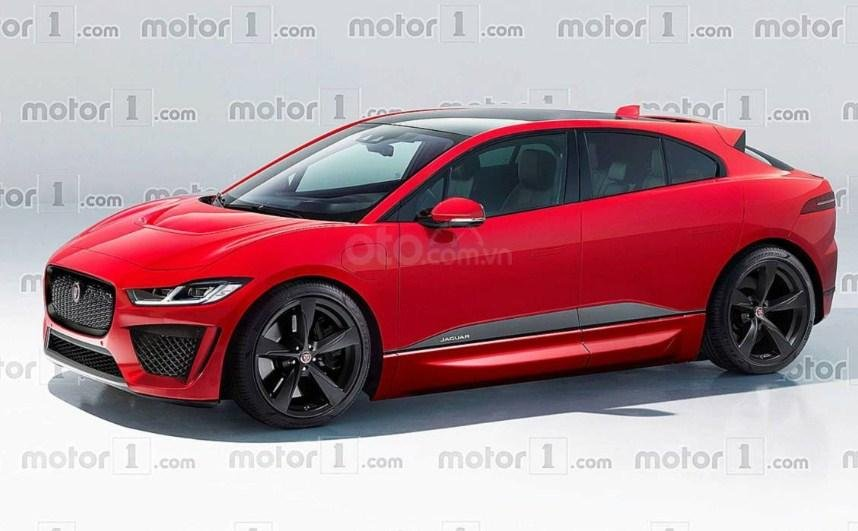 Jaguar I-Pace SVR 2020.