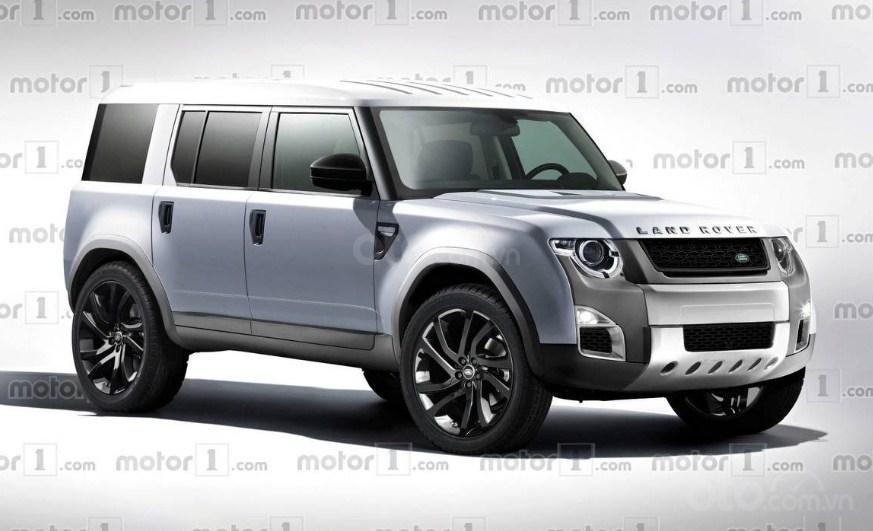Land Rover Defender 2019.