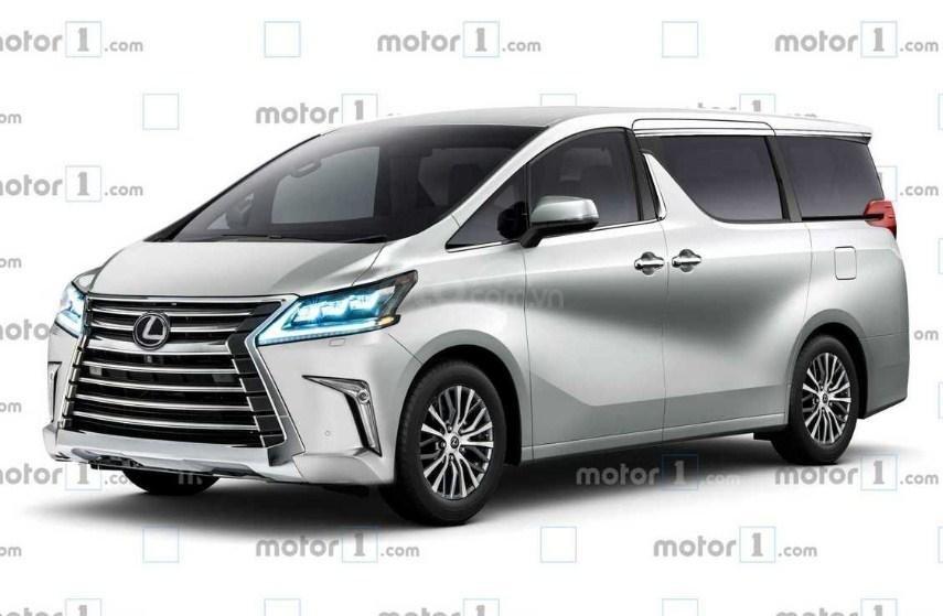 Lexus Minivan 2020.