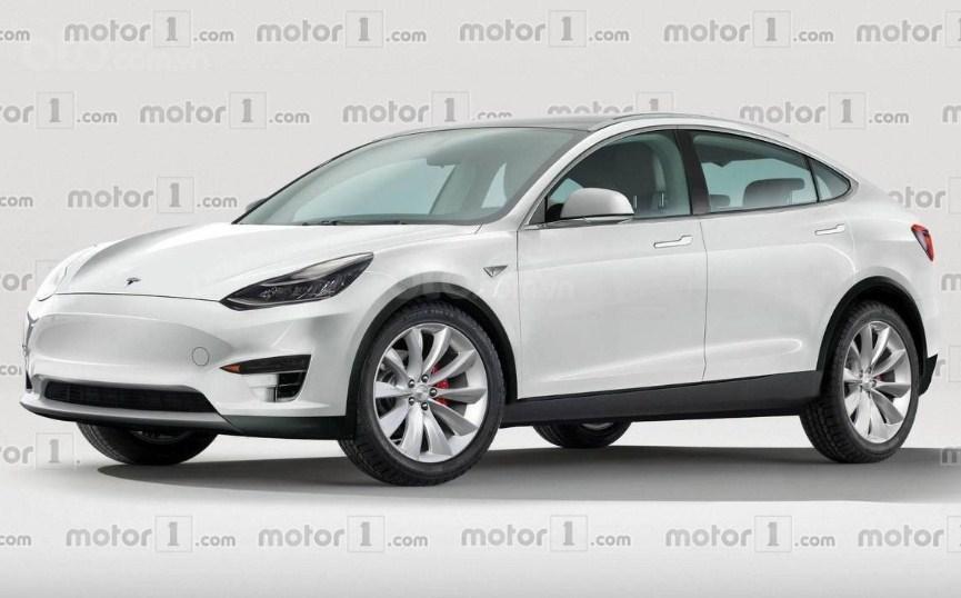 Tesla Model Y 2019.