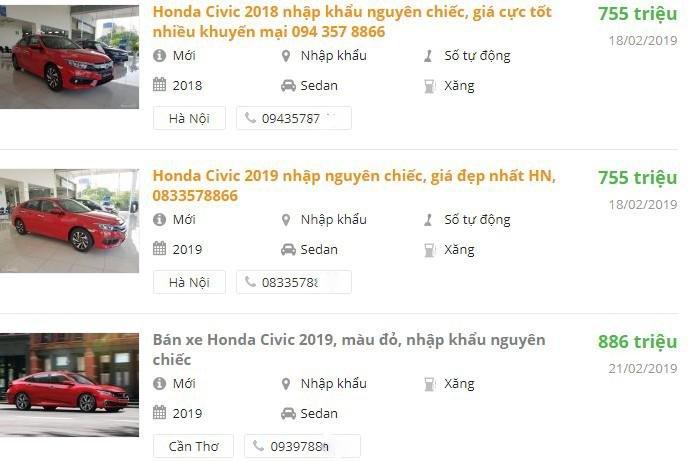 Sắp ra mắt bản nâng cấp, Honda Civic giảm giá tại đại lý a4