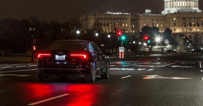 Công nghệ tránh đèn đỏ trên ô tô Audi a3 .