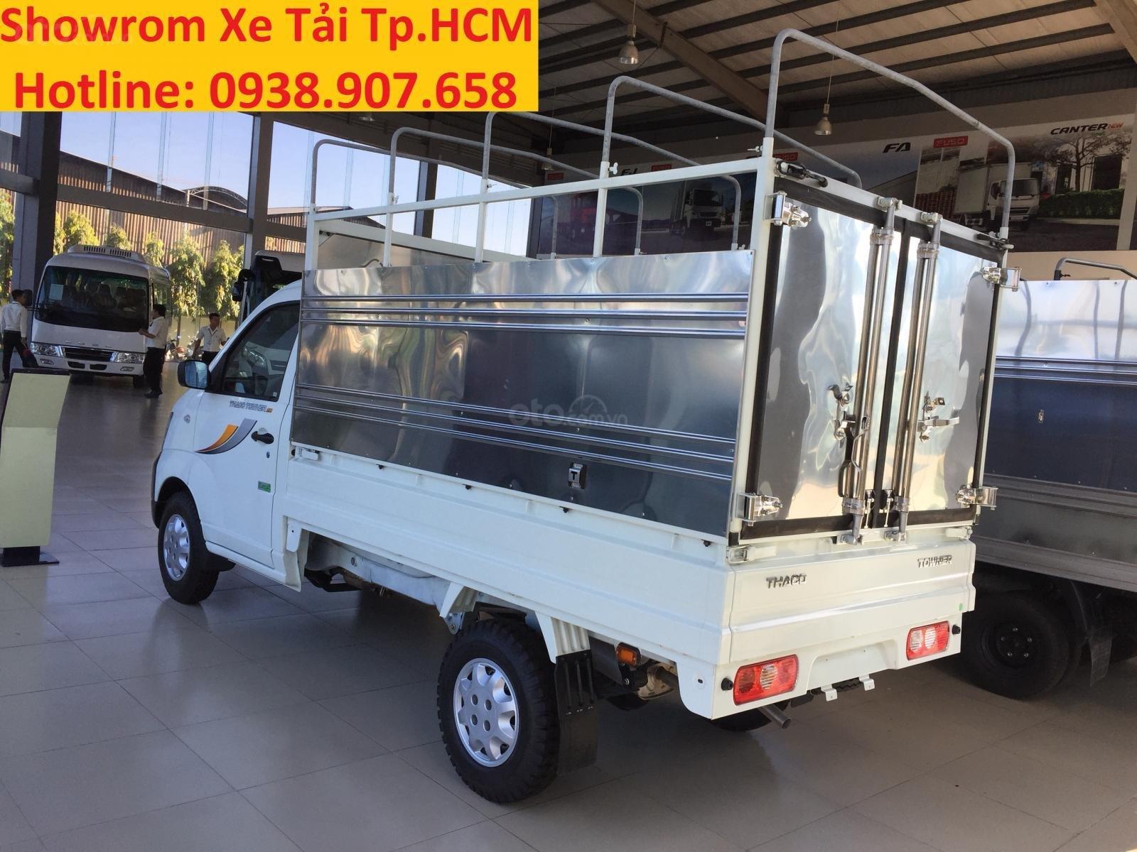 Bán xe tải Thaco Towner 990, tải trọng 990 kg, New 2019, khuyến mãi 100% trước bạ-2