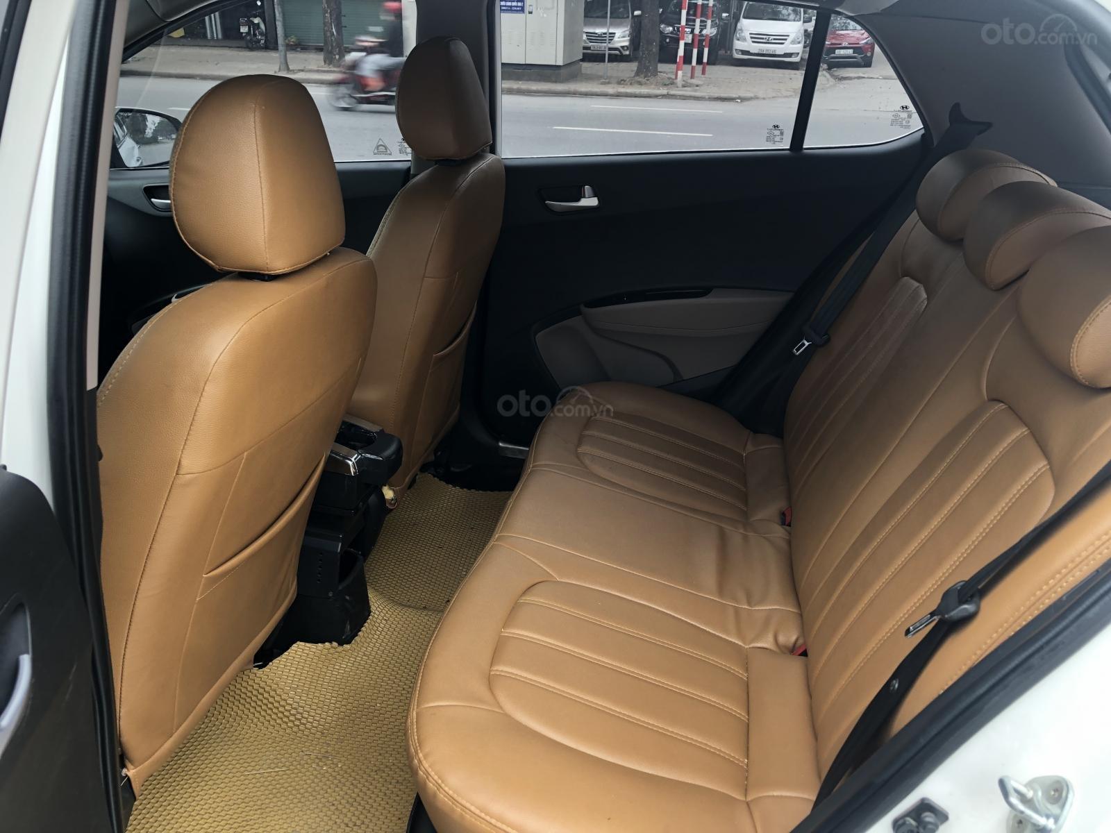 Cần bán Hyundai Grand i10 năm sản xuất 2016, màu trắng, xe nhập số sàn-7