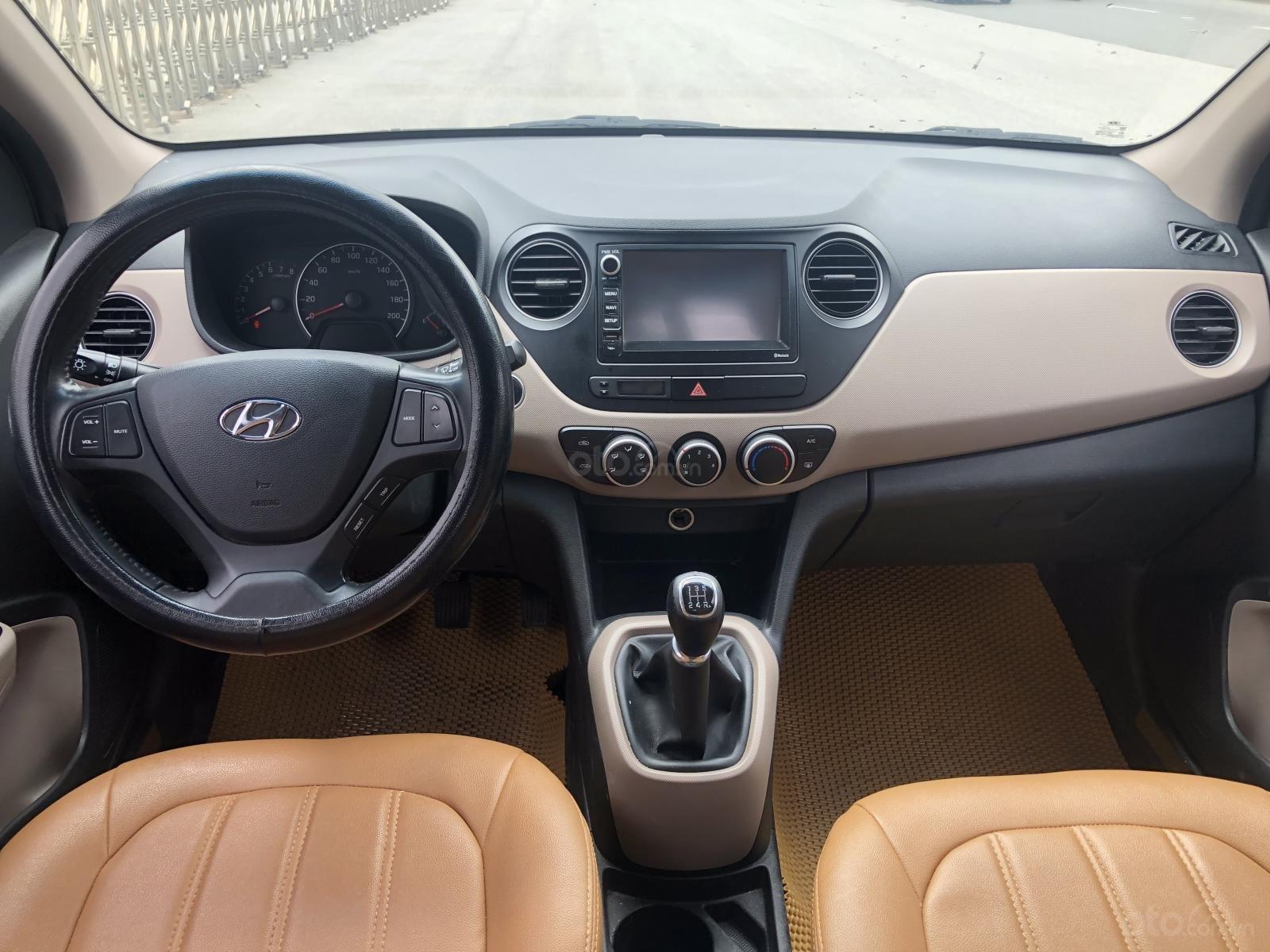 Cần bán Hyundai Grand i10 năm sản xuất 2016, màu trắng, xe nhập số sàn-9
