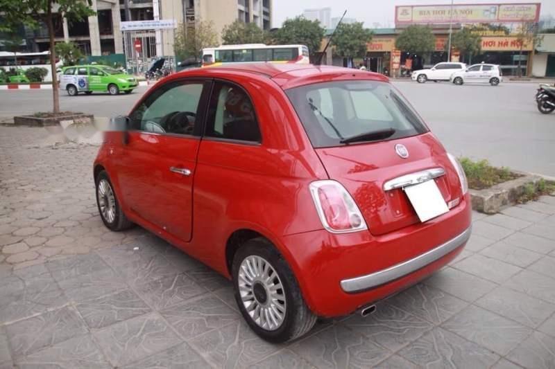 Bán xe Fiat 500 năm 2009, màu đỏ, nhập khẩu còn mới-3