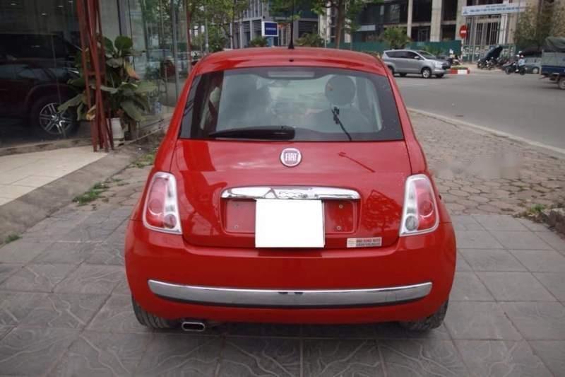 Bán xe Fiat 500 năm 2009, màu đỏ, nhập khẩu còn mới-1