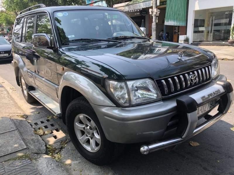 Cần bán xe Toyota Land Cruiser Prado, đời 1998 bản GX full option, 4 máy 2.700cc, số sàn, 2 cầu-1