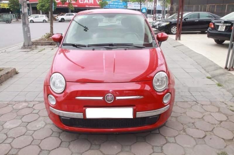 Bán xe Fiat 500 năm 2009, màu đỏ, nhập khẩu còn mới-0