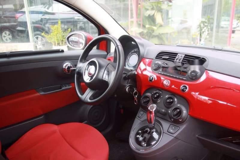Bán xe Fiat 500 năm 2009, màu đỏ, nhập khẩu còn mới-5