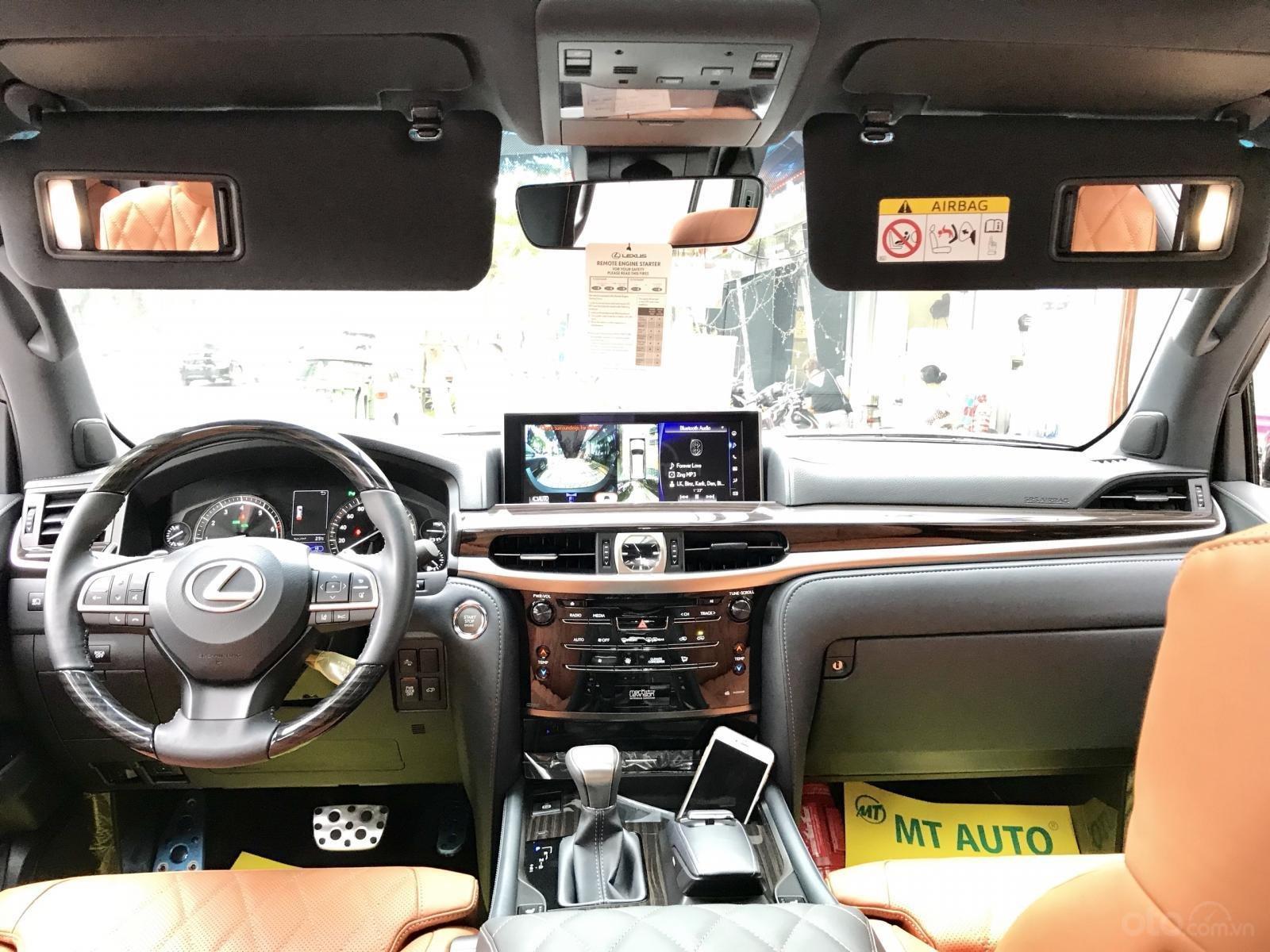 Bán xe Lexus LX 570S SuperSport MBS 4 ghế model 2019, màu đen, nhập khẩu nguyên chiếc-8