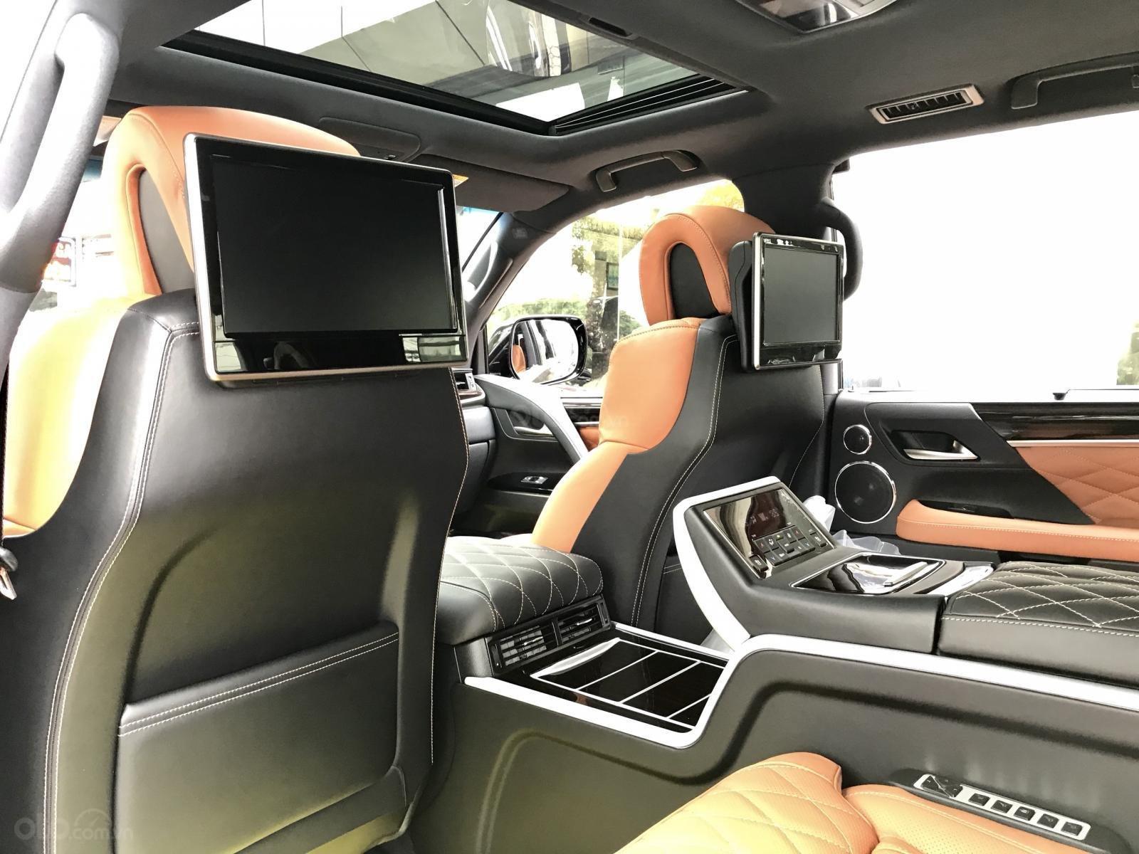 Bán xe Lexus LX 570S SuperSport MBS 4 ghế model 2019, màu đen, nhập khẩu nguyên chiếc-15