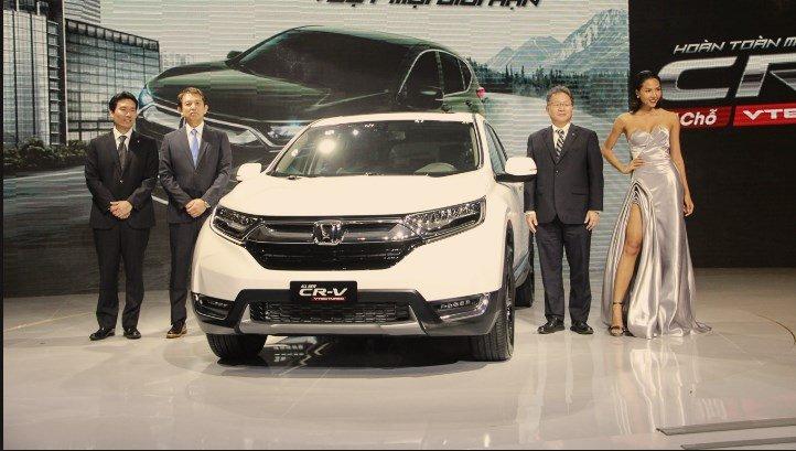 Đánh giá xe Honda CR-V 2018 bản 7 chỗ.
