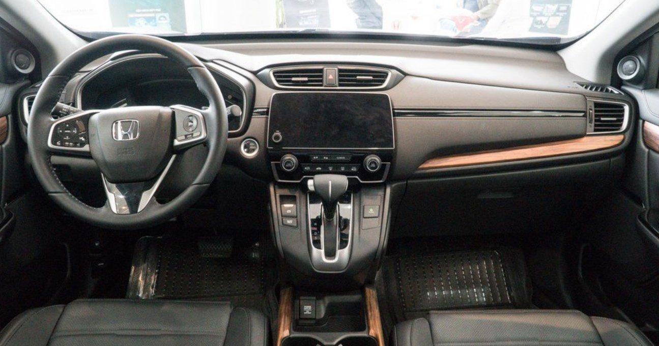 Đánh giá xe Honda CR-V 2018 bản 7 chỗ: Bảng táp lô.