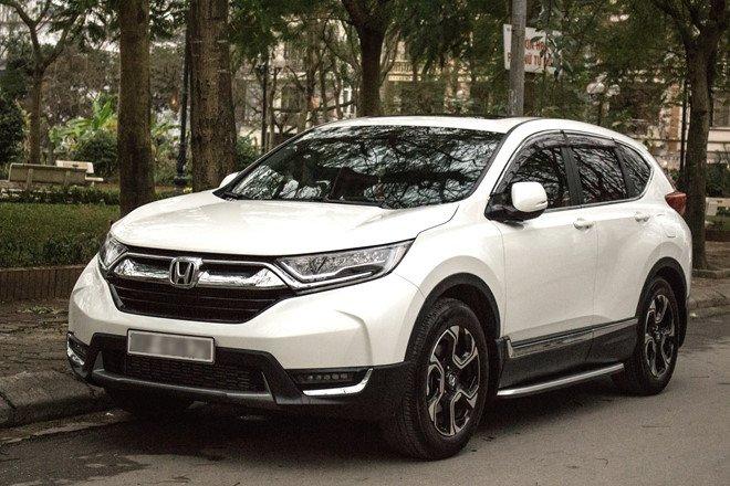 Đánh giá xe Honda CR-V 2018 bản 7 chỗ: Cảm giác lái của xe chắc chắn hơn thế hệ cũ.