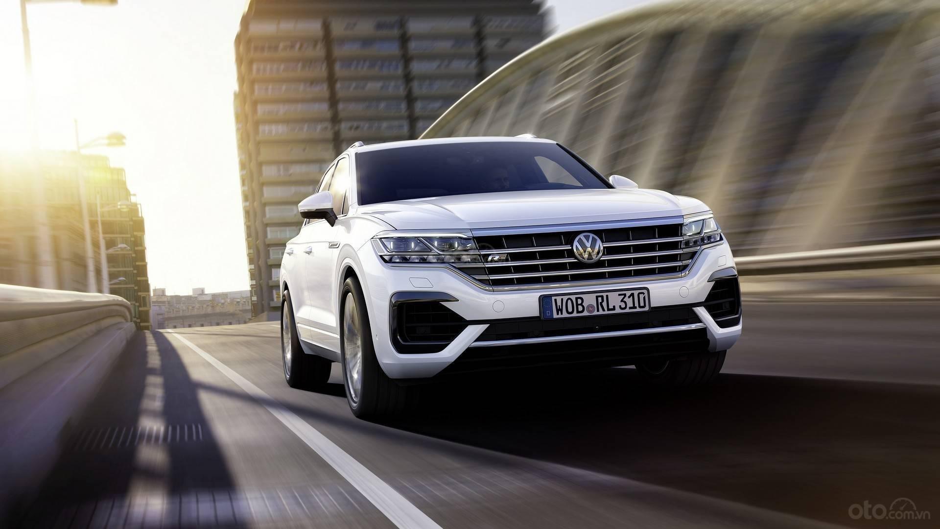 Đầu xe Volkswagen Touareg 2019 2