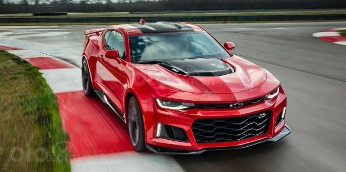 Chevrolet Camaro ZL1 2019 màu đỏ