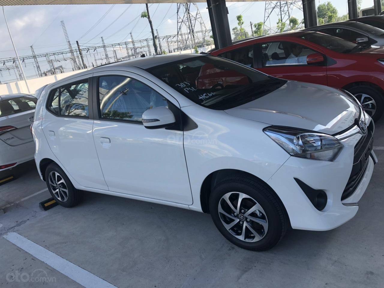 Bán Toyota Wigo 1.2 số sàn 2019, màu trắng, nhập khẩu, khuyến mãi tốt-1