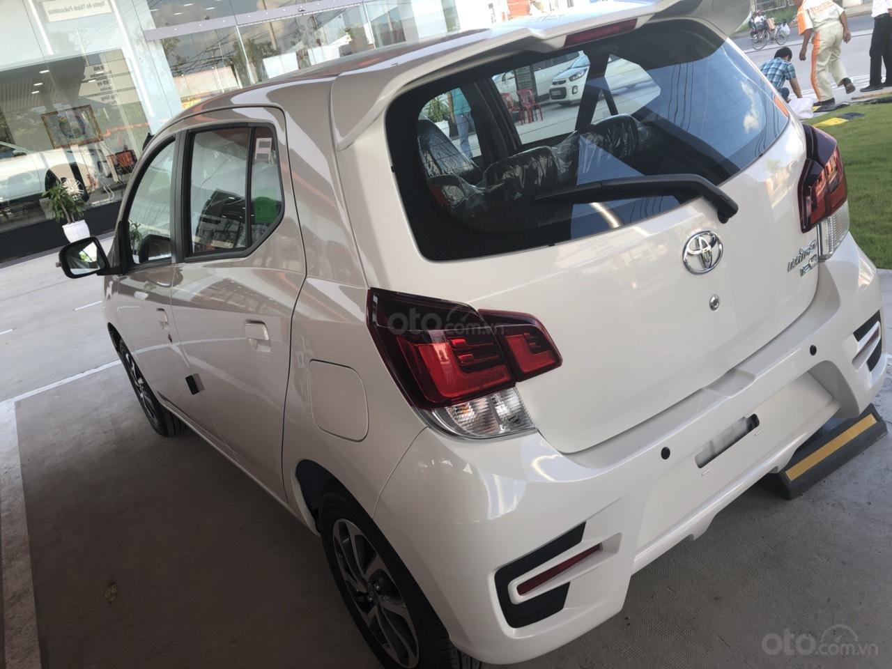 Bán Toyota Wigo 1.2 số sàn 2019, màu trắng, nhập khẩu, khuyến mãi tốt-2