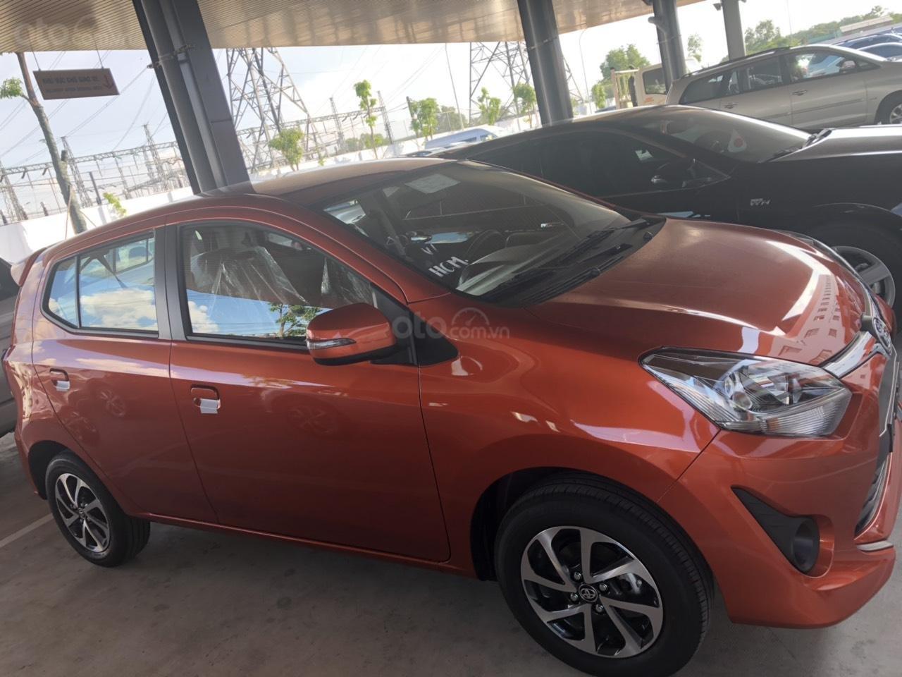 Bán xe Toyota Wigo 1.2 số sàn 2019, màu cam, nhập khẩu-2
