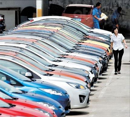 Doanh số xe cũ tại Trung Quốc phát  triển tích cực