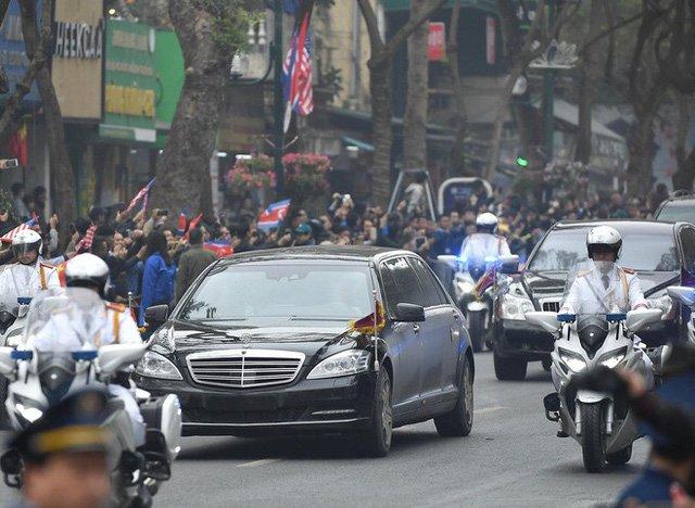 Mercedes-Benz S600 Pullman Guard hộ tống Kim Jong Un về Hà Nội 5