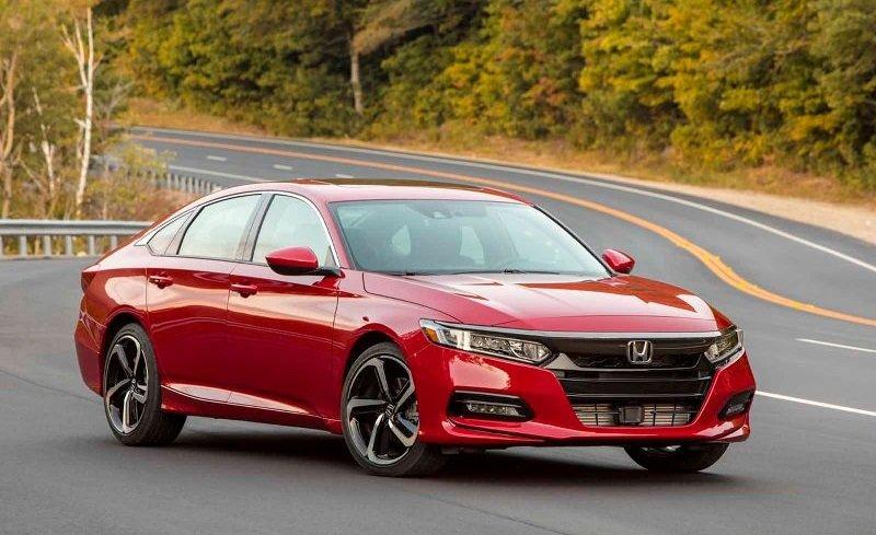 Honda Accord 2019 đang bán ra tại Mỹ...
