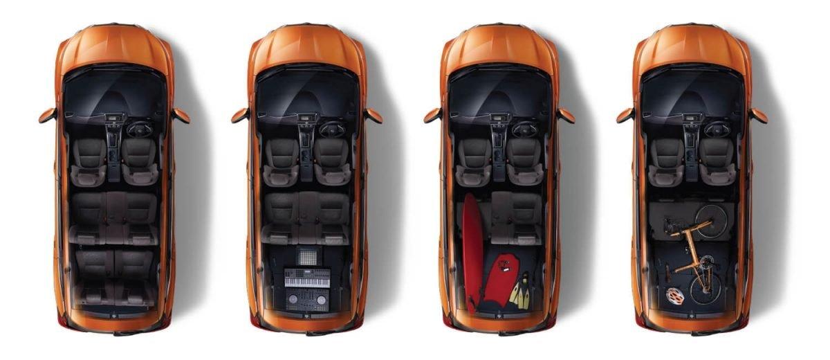 Ảnh chụp ghế ngồi xe Nissan Grand Livina 2020