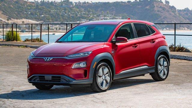 Hyundai Kona EV cháy hàng sau ít ngày mở bán a1