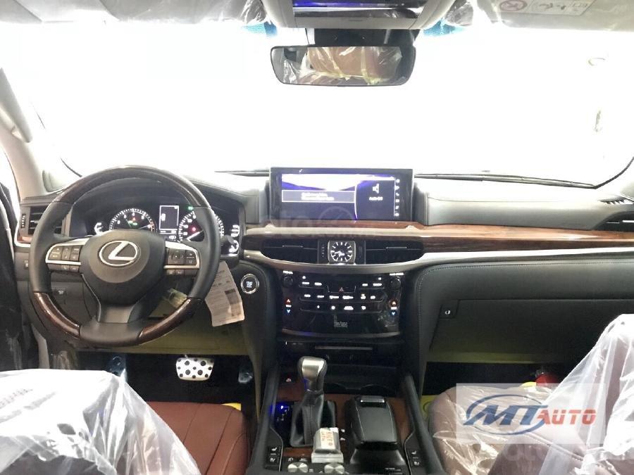 Bán Lexus LX570 sản xuất 2018, màu trắng, xe nhập-6