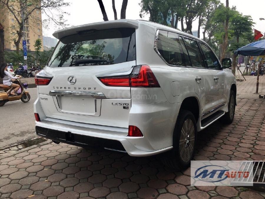 Bán Lexus LX570 sản xuất 2018, màu trắng, xe nhập-9