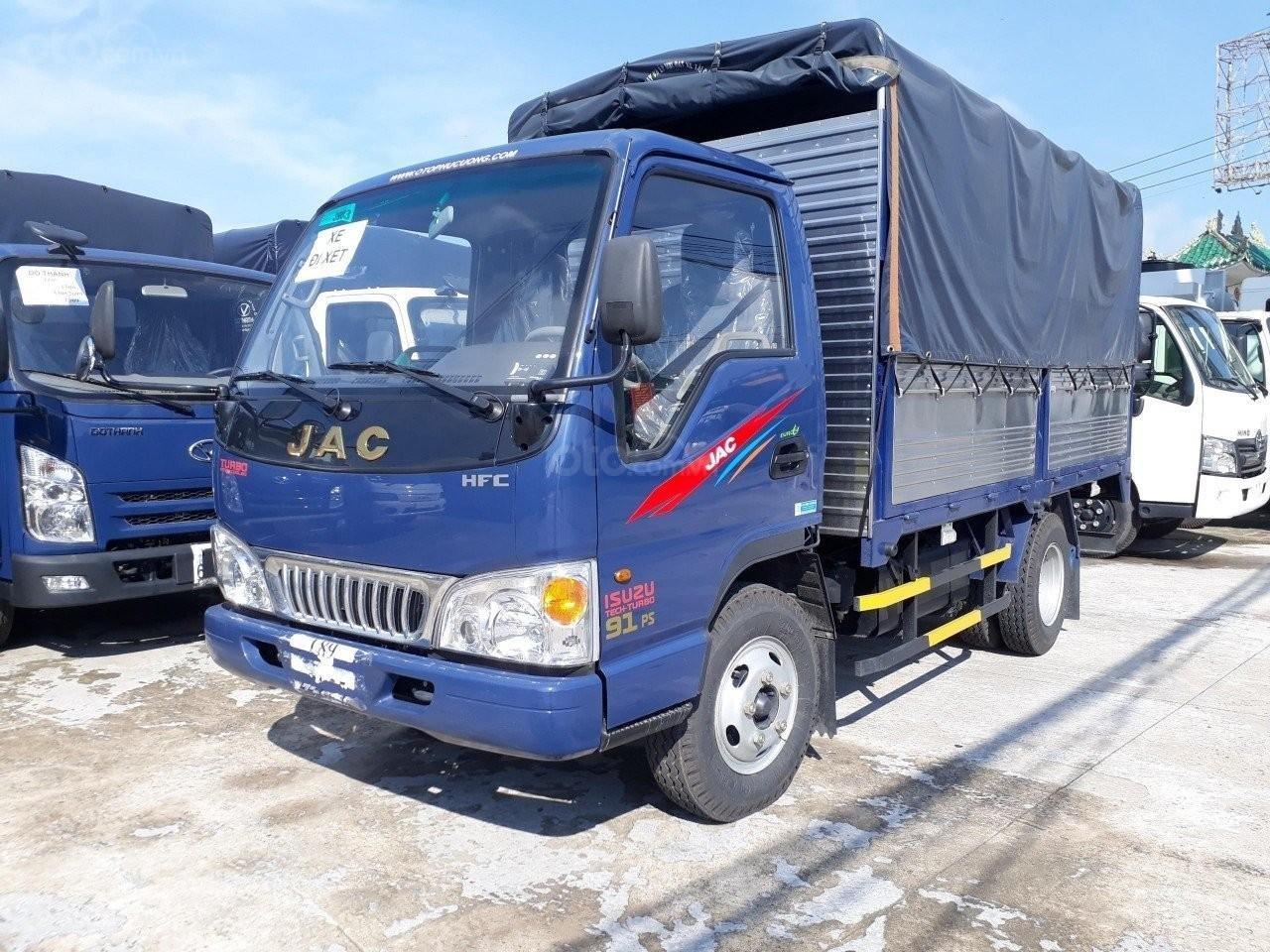 Bán xe máy Isuzu 2t4 thùng 4.4 mét xe mới lắp ráp tại NM JAC Việt Nam-0