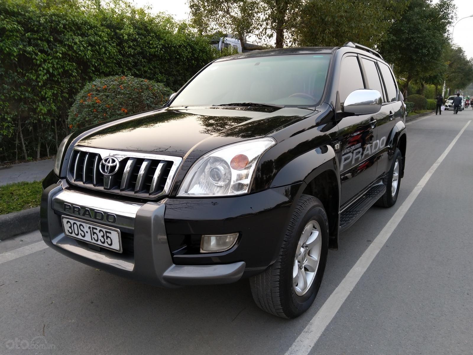 Bán Toyota Prado GX năm 2009, màu đen, xe nhập-7