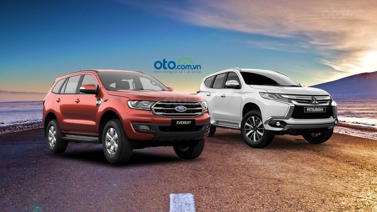 Ford Everest 2019 và Mitsubishi Pajero Sport 2019...