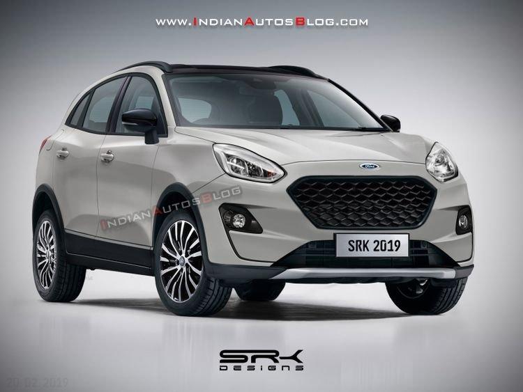 Ảnh dựng của Ford EcoSport thế hệ mới.