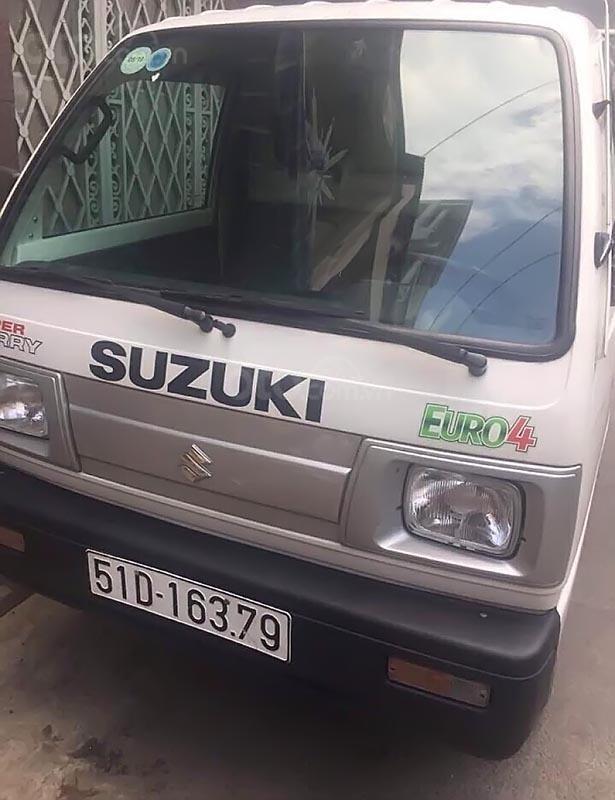 Bán Suzuki Super Carry Truck 1.0 MT đời 2017, màu trắng chính chủ, giá 205tr (3)