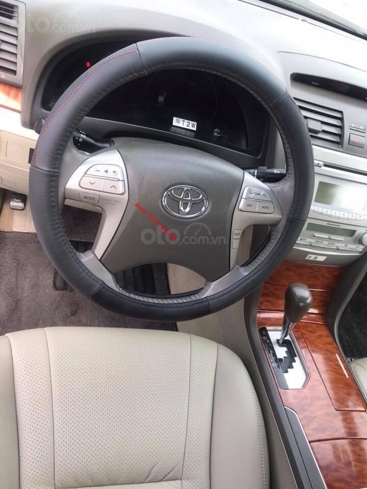 Cần bán xe Toyota Camry 2.4G đời 2011, màu ghi xám-11