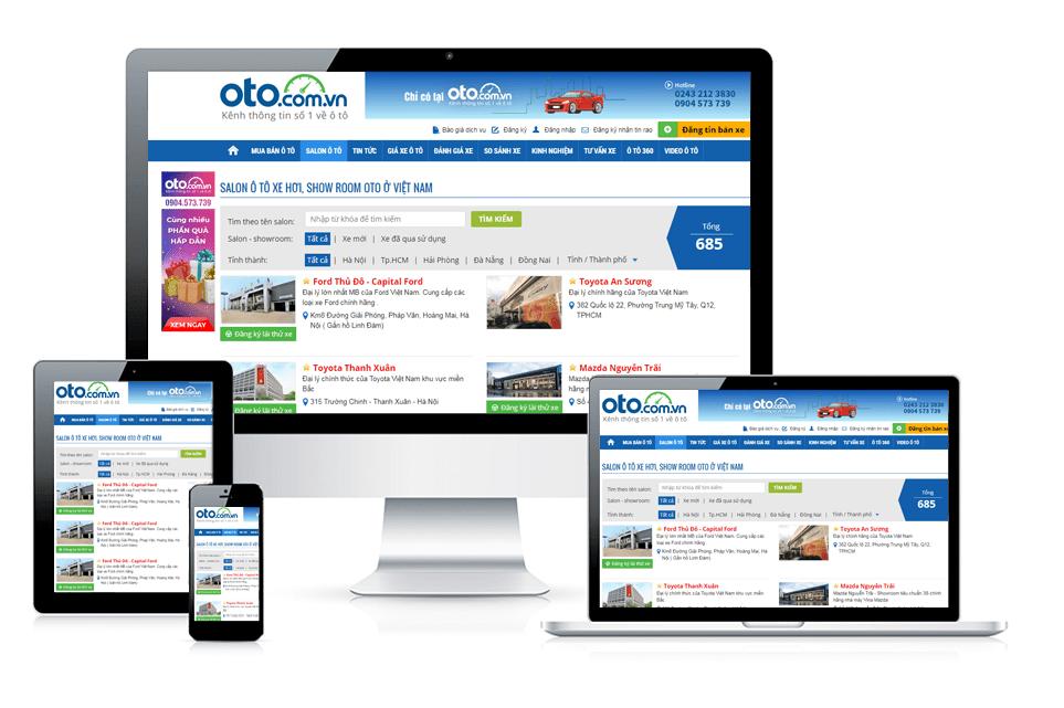 Oto.com.vn - Web mua bán ô tô trực tuyến uy tín nhất Việt Nam