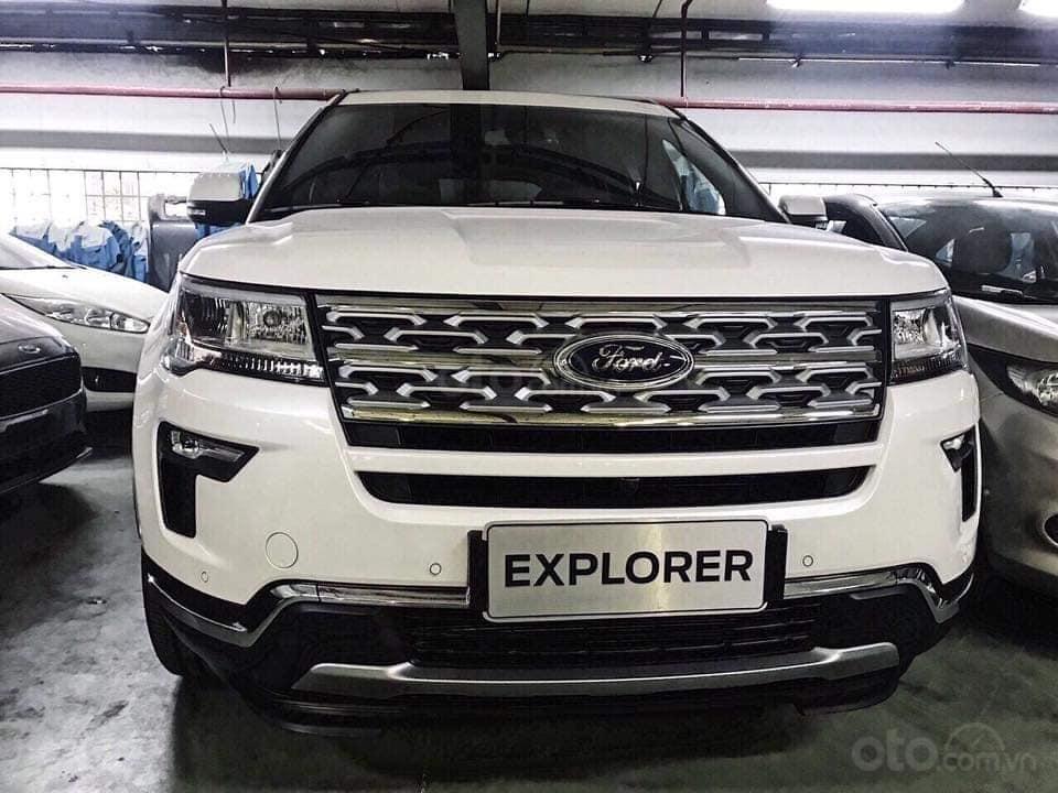 Tặng: BHVC, phim, bệ bước điện, camera, phủ ceramic, xịt gầm, lót sàn khi mua xe Ford Explorer 2019, LH: 091.888.9278-0