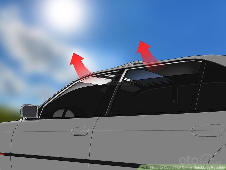 3 mẹo hạ nhiệt ô tô cấp tốc, đối phó cái nóng mùa hè - Hé cửa sổ giúp thoát nhiệt