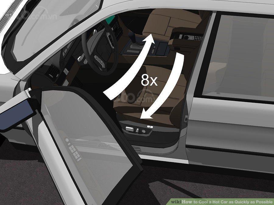 3 mẹo hạ nhiệt ô tô cấp tốc, đối phó cái nóng mùa hè - Đẩy cửa, quạt mát xe
