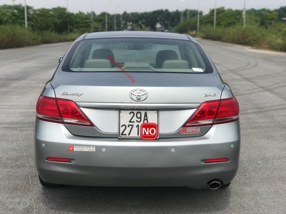 Cần bán xe Toyota Camry 2.4G đời 2011, màu ghi xám-20