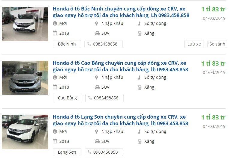 Hết thời bia kèm lạc, Honda CR-V quay vế đúng giá thật nhận ưu đãi từ 10-20 triệu đồng tại đại lý.